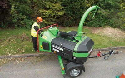 Holzhäcksler für Haus/Garten und den Kommunalbereich (GreenMech, NHS, VIKING, ECHO)