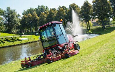 Vollhydraulischer Großflächenmäher für den vielfältigen Einsatz