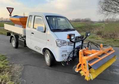 EVO Transporter mit Allrad-Antrieb für den Winterdienst