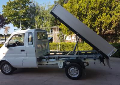EVO Transporter mit Heckkipper
