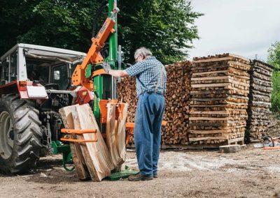 Holzspalter POSCH HydroCombi