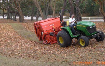 Rasen-Laub-Kehrmaschinen