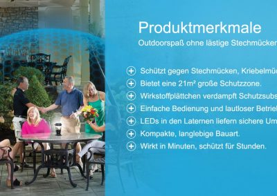 ThermaCell Produktmerkmale