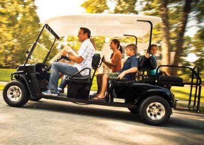 E-Z-GO Golfcart Express L6 für 6 Personen