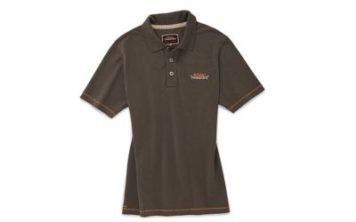 STIHL Timbersports Poloshirt Piqué braun