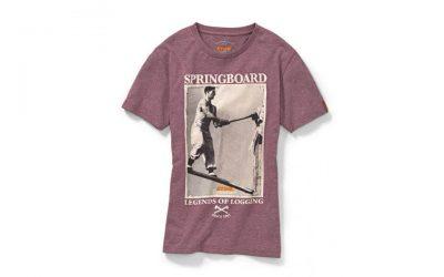 STIHL Timbersports T-Shirt Retro weinrot